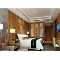 Buy cheap 4 Star Highly Endurable Hotel Bedroom Furniture Sets Queen Size High Density Form product