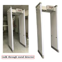 Buy cheap 33 Detection Zones Full Body Metal Detectors , Turnstile Barrier Gate With LED from wholesalers