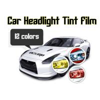 Buy cheap Car Headlight Tint Film 3 layers 0.3*10m/roll - colors for choose product