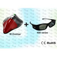 Buy cheap IR 3D PC Solution with HD 3D Glasses and 3D Emitter product