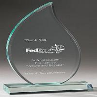 Buy cheap Personalized 380 * 220mm  Acrylic Award Trophy Plaques Medal Customized product