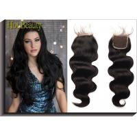 Quality Shedding Free  Natural Black Weft 100%  virgin human hair loose wave   14inch 16inch for sale