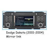 Buy cheap Digital 2001 - 2004 Dodge Dakota Stereo , 4.3 Inch Touch Screen Car Stereo With GPS product
