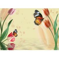 Buy cheap Simple Butterfly Flowers Bamboo Fiber Products Insulation and Energy Saving product
