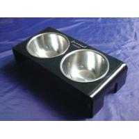 Buy cheap Rectangle 8mm Ruby Acrylic Pet Bowl Food Feeder For Dog , Cat OEM product
