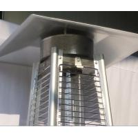 Buy cheap Durable Stand Up Pyramid Outdoor Gas Patio Heater With Flame 8KW Power product