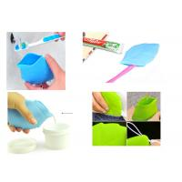 Buy cheap Soft Silicone Travel Containers Leaf Shape Water Drink Pocket For Camping / Hiking product
