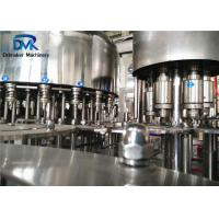 China Hdpe Bottle Small Scale Juice Bottling Equipment Self - Lubricationg System on sale