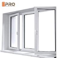 Buy cheap 6063-T5 Profile Aluminum Casement Windows With Double Glazing Customized Size product