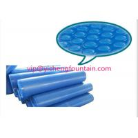Buy cheap PE Material Swimming Pool Control System Inflatable Bubble Solar Cover 300 Mic - 500 Mic Blue Color product