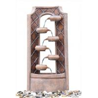 Buy cheap Classical Multi Tiered Outdoor Fountains In Fiberglass / Resin Material product
