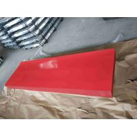 Buy cheap Red Corrugated Sheet Metal / High Hardness Corrugated Metal Roofing Sheets product