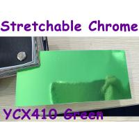 Buy cheap Stretchable Chrome Mirror Car Wrapping Vinyl Film - Chrome Green product