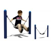 Buy cheap Safe Two Stands Commercial Belt Swing Seat Customized Low Position With Chain product