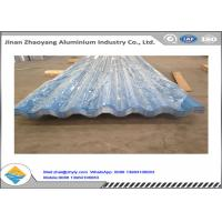 Buy cheap Color Coated Corrugated Aluminum Sheet / Zinc Aluminum Roofing Sheet 0.8mm Thickness product