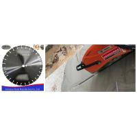 Buy cheap Customized Fast Speed 400mm Diamond Blade , Dry Cut Saw Blade High Efficiency product