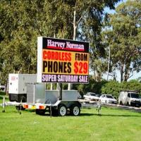 Buy cheap Outdoor P10 Full Color Truck Mobile LED Display For Advertising product