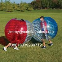 China adult outdoor inflatable ball games,popular inflatable bumper ball,bubble soccer for sale on sale