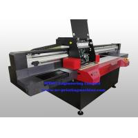 Buy cheap Professional Flatbed 3D UV Inkjet Printer , Wide Format Inkjet Printer With Varnish Printing product