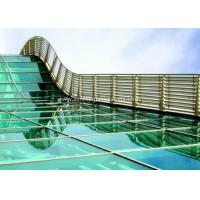 Buy cheap BS / ASTM Approve 12mm Toughened Safety Glass For Subway Station product