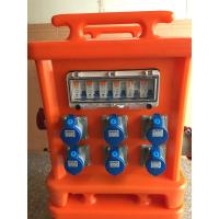 Quality Movable Portable Power Distribution Box , Plastic 3 Phase Distribution Box for sale