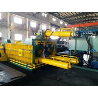 Buy cheap Double Main Cylinder Bale Turn Out Baler Machine For Scrap Metal / Aluminum from wholesalers