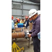 Buy cheap Light Weight End Preparation Pipe With Self Centering Clamping System pneumatic product