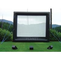 Buy cheap Safety Inflatable Movie Screen Rental  / Inflatable TV Screen Reinforced Oxford Cloth product