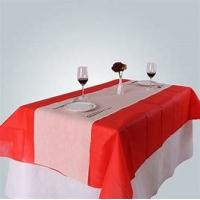 Table Cloth Non Woven Polypropylene Fabric Wearproof Colorful For Home Furnishing