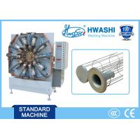 Buy cheap HWASHI Automatic Metal Wire Dust Filter Bag Spot Welding Machine,Automatic Filter Cage Making Machine product