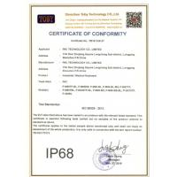 SHENZHEN PAC TECHNOLOGY CO., LIMITED Certifications