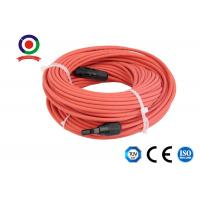 Buy cheap 10 Feet Length Mc4 Extension Cable / Solar Panel Power Cable 30A Rated Current product
