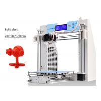 Buy cheap DIY Desktop High Precision 3D Printer Prusa I3 kit , ABS Rapid Prototype 3D Printing Machine product