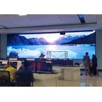 Quality Super Slim Indoor Video P3 Command Center Full Color LED Display For Stage for sale