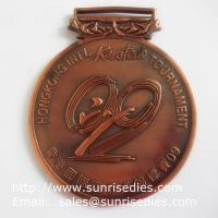 Buy cheap Metal Karate Tournament Medals, Personalized Alloy Karatedo Winner Prize Medals product