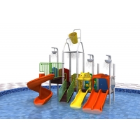 Buy cheap Pvc Coating Plastic 114mm Kids Water Play Equipment Adjustable Size product