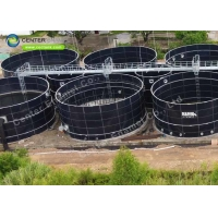 Buy cheap Glass Fused To Steel Leachate Storage Tanks Easy To Clean product