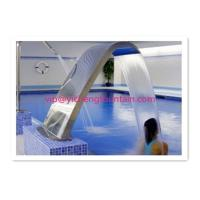 Buy cheap Fully SS Swimming Pool Accessories Waterfall For Massage Human Body Any Sizes product