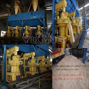 Buy cheap 1-1.5T/H wood pellet production line/biomass pellet making line product