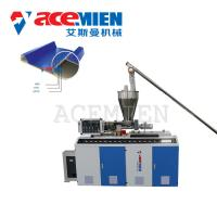 Buy cheap Plastic Corrugated Roof Sheet Making Machine Siemens Motor Customized Color product