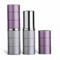 Buy cheap Cosmetic Packaging/Lipstick Tubes with Height of 71.5mm, Customized Colors are Accepted product