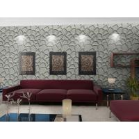 Buy cheap Fashion Wall Art  3D Living Room Wallpaper , Modern 3D Wall Panel for Sofa Background product