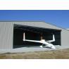 Buy cheap Custom Fabric Steel Structure Hangar , Lightweight Steel Aircraft Hangar Buildings product