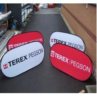 Buy cheap Folding printed Show Case Popup A Frame Banners Triangle Models W100 x H100cm product