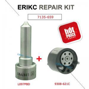 Buy cheap ERIKC 7135-659 diesel engien injector control valve 9308-621C nozzle L097PBD repair kit DSLA 150 FL 097 and 9308 621C product