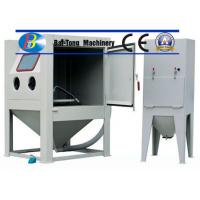 Buy cheap CE Certified Sand Blasting Unit , Manual Sandblast Cabinet Customized Fixed Turntable product