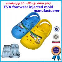 Buy cheap Cute Children Injection Molded EVA 25  - 49 Wide Size Range Customized Color product