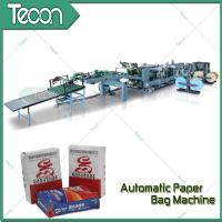 Buy cheap High Speed Paper Bag Bottomer Machine With Inner Outer Strength Sheet product