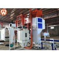 Buy cheap 0.5 - 0.6t/H Capacity Fish Feed Production Line 55kw With Dryer Machine product