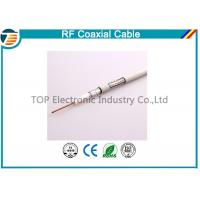 Buy cheap Small 50ohm RG174 Coaxial Cable For Antenna / Communication Telecom product